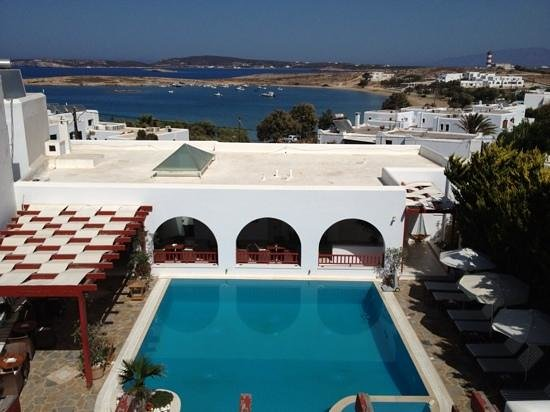 Stelia Mare Boutique Hotel: view from our suite