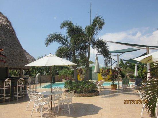 Hostal Casa Amarilla: la piscine