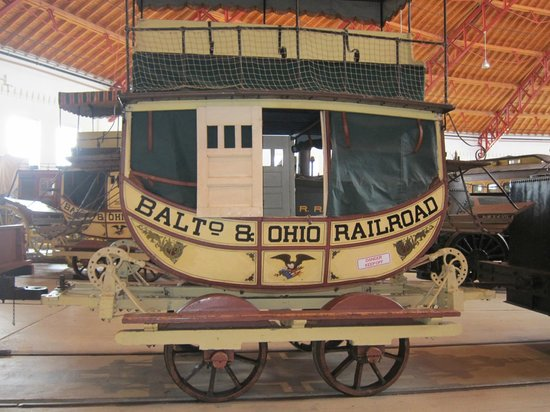 Baltimore and Ohio Railroad Museum: Early model