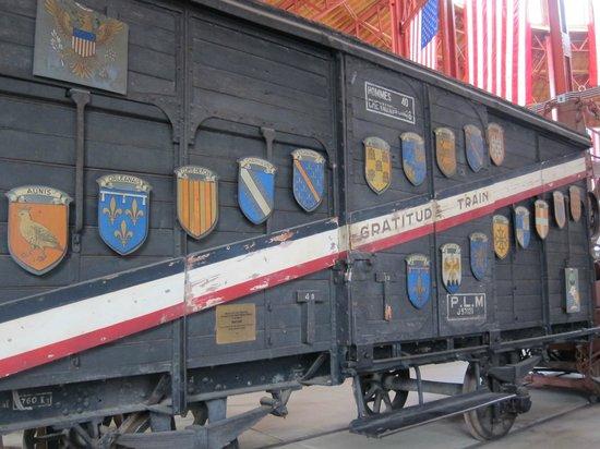 Baltimore and Ohio Railroad Museum: International train car