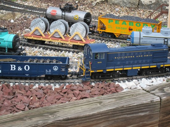 Baltimore and Ohio Railroad Museum: miniature train