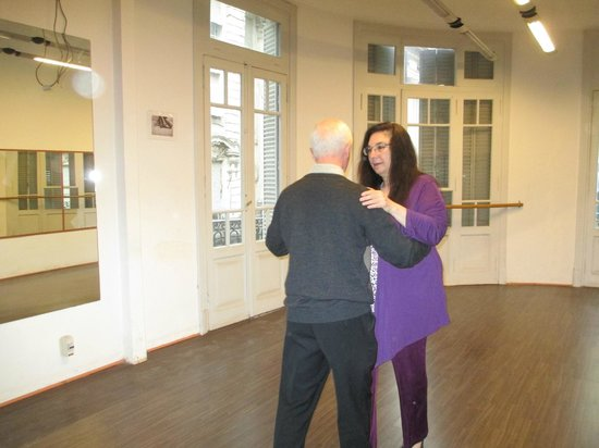 Tango Classes with Lucia & Gerry: Gerry made tango easy, fun and graceful