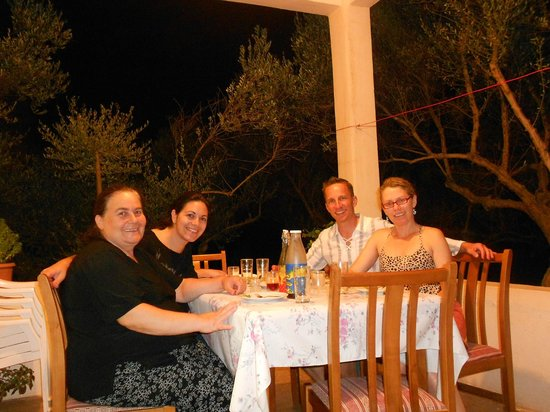 Cretan Traditional Cooking Lessons: Enjoying the meal