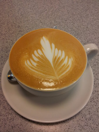 Create Cafe Wakefield: Our excellent Grumpy Mule coffee