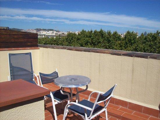 Hotel Del Mar: Roof Terrace