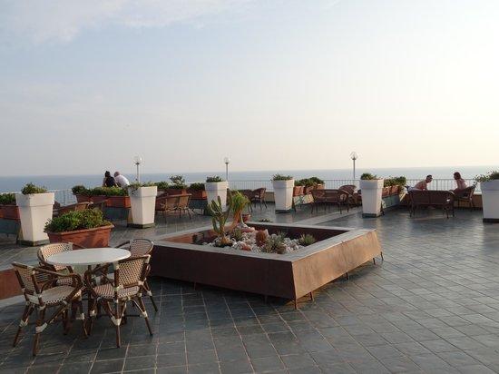 Club Marmara Cala Regina : Terrasse