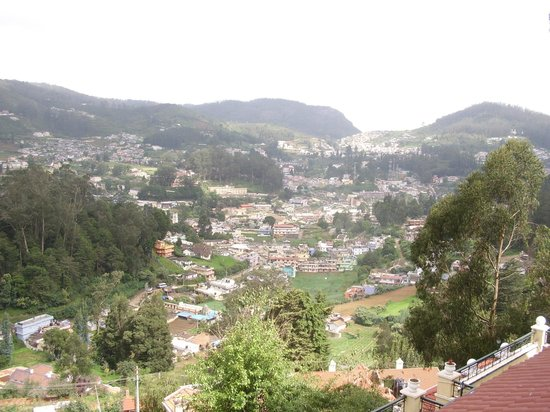 Gem Park-Ooty: View from our room