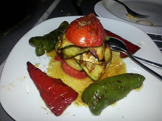 Ladokolla : grilled vegetables