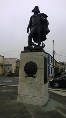 Talbot Wexford : john barry statue