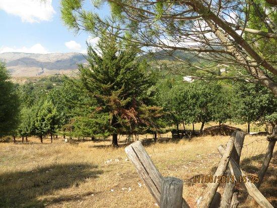 Giardino Donna Lavia : panorama