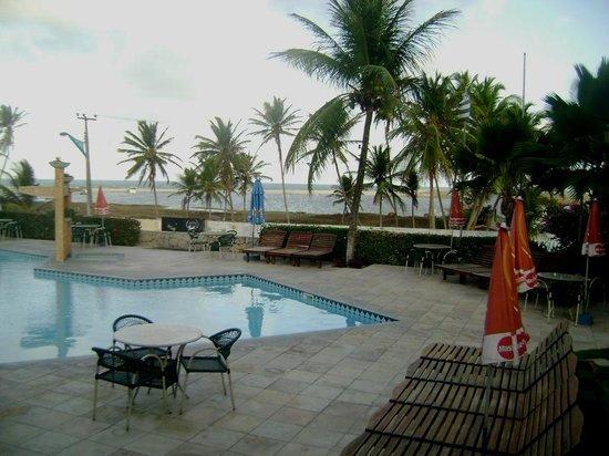 Laguna Blu Hotel: Vista em frente ao meu apto-