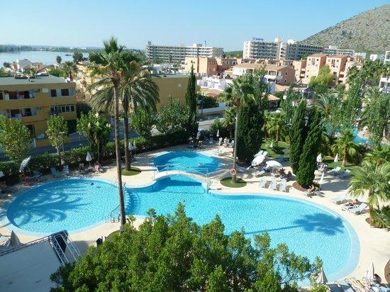 Hotel JS Sol de Alcudia: Blick vom Balkon