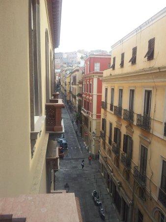 Hotel Italia: View from the balcony