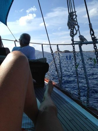 Kas Daily Boat Tours with Bermuda : Relaxing on Bermuda Boat Tour from Kas to Kekova