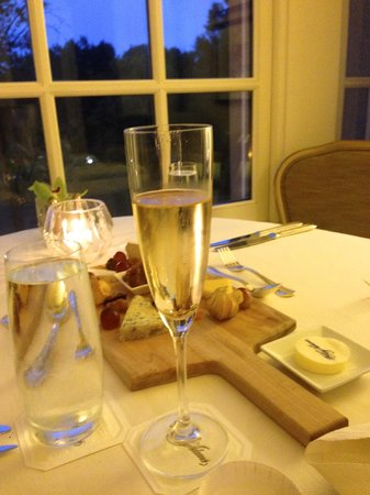 The Hay-Adams: Private room service dinner - perfect!