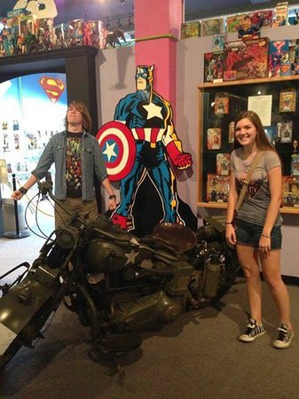 Toy and Action Figure Museum: The actual Captain America movie motorcycle