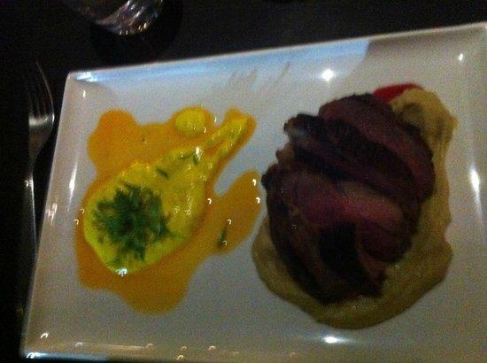 The Deck Restaurant: Fillet of Lamb