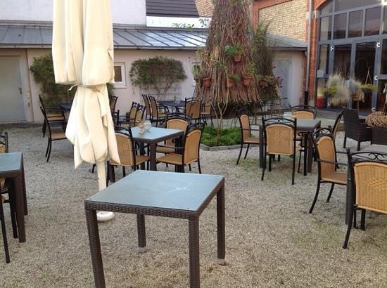 Hotel Salischer Hof : terrasse salischer hof