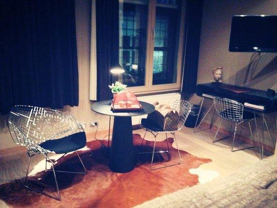 Huis Koning : La chambre