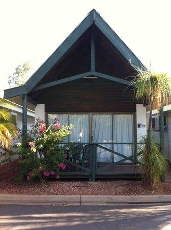 Desert Palms Alice Springs : Monolocale con veranda  Desert Palms Resort