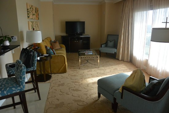 Waldorf Astoria Orlando : suite living room
