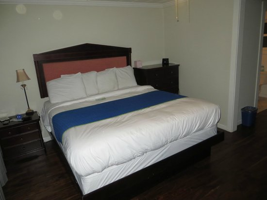 Americas Best Value Inn & Suites - Royal Carriage: The bed