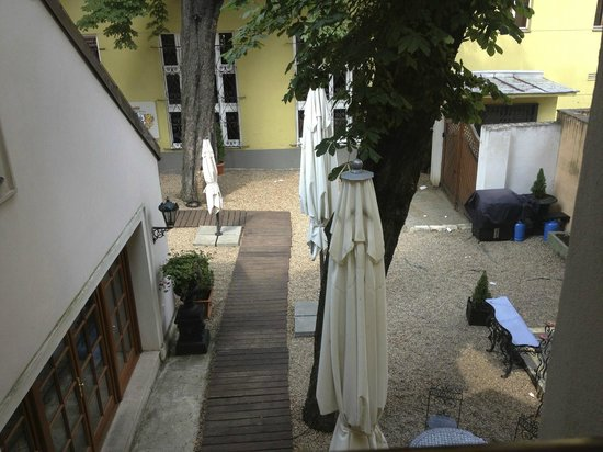 Alchymist Grand Hotel & Spa: View from the room