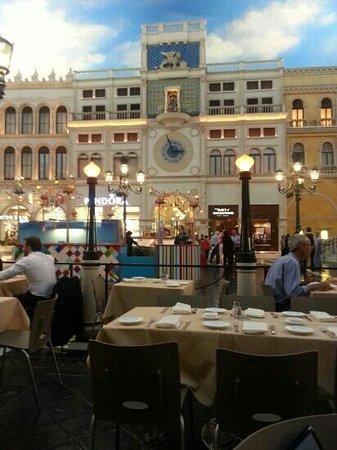 Canaletto : vista su st marco square at Venetian in Las Vegas