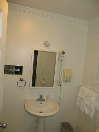 Americas Best Value Inn & Suites - Royal Carriage: The bath
