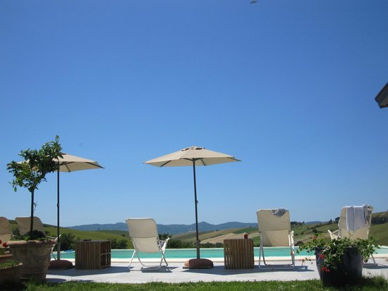 Agriturismo Podere Il Fornacino: Pool all to ourselves