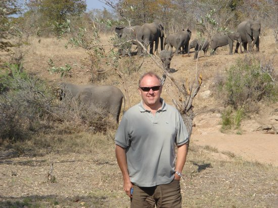 Shindzela Tented Safari Camp: View from the balcony!!
