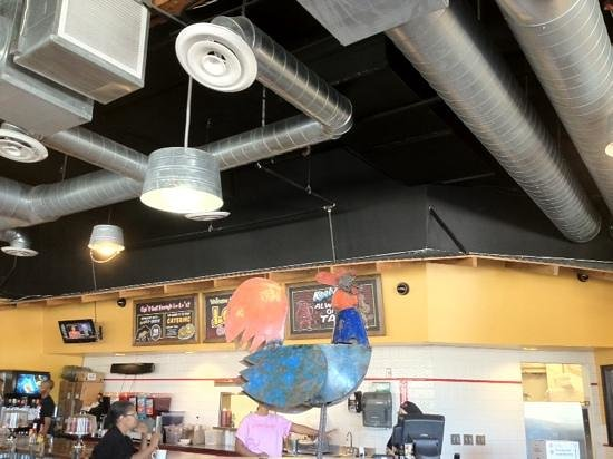 Lo Lo's Chicken and Waffles: part of the decoration