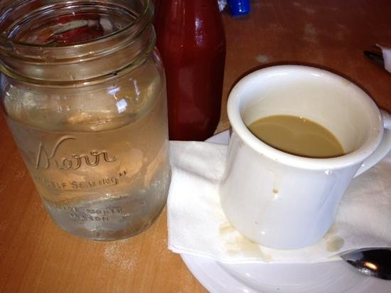 Lo Lo's Chicken and Waffles: coffee :)