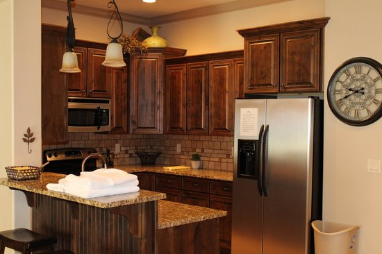 Coral Springs Resort: Full Kitchens!