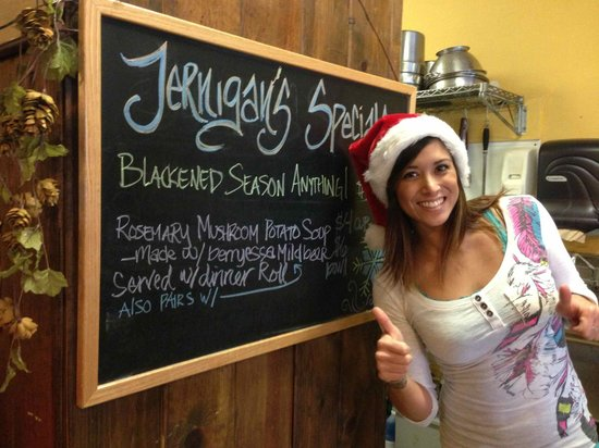Jernigan's Tap House and Grill: Here for the holidays and sports seasons with big screen tvs