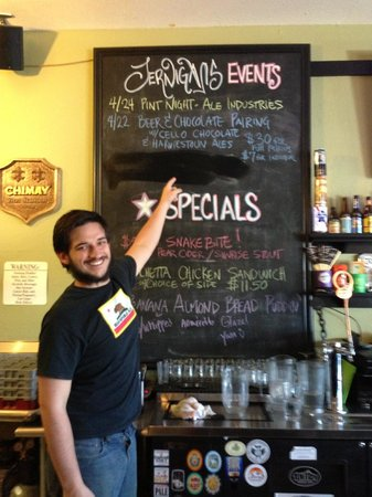 Jernigan's Tap House and Grill: We do beer right?