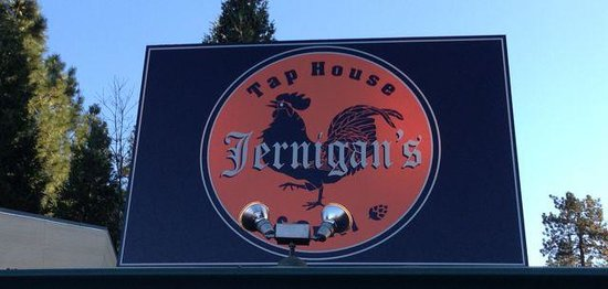 Jernigan's Tap House and Grill: Find us at 123 Argall, Nevada City, CA