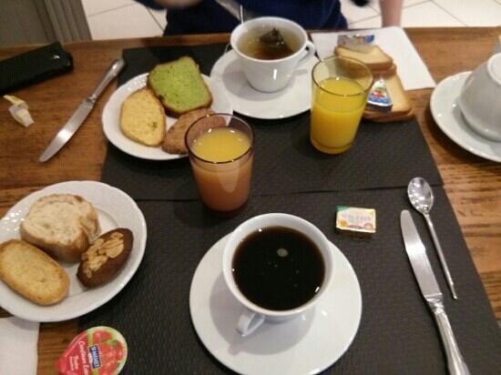 Hotel Au Marais: petit dejeuner