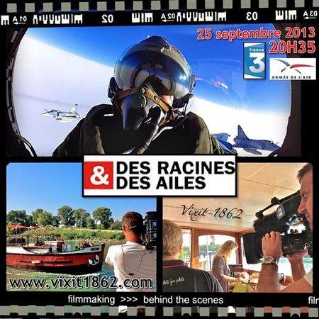 """Peniche d'hotes Helios : Dans l'émission """"Des Racines & des Ailes"""""""