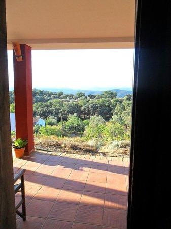 Hotel La Era de Aracena: Vista a la sierra