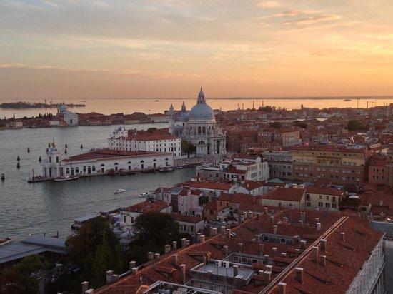 Sunset from Campanile di San Marco