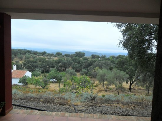 Hotel La Era de Aracena: Vista desde la habitación
