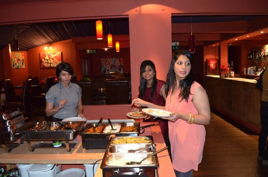 Ammu's Kitchen: here is a view of the delicious food....