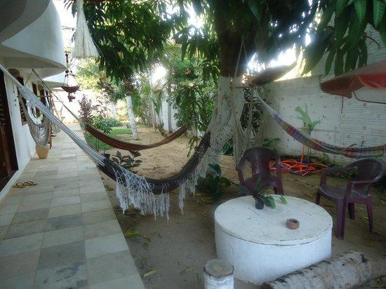 Casa Coco Verde - Pousada & Hostel: área para descanso
