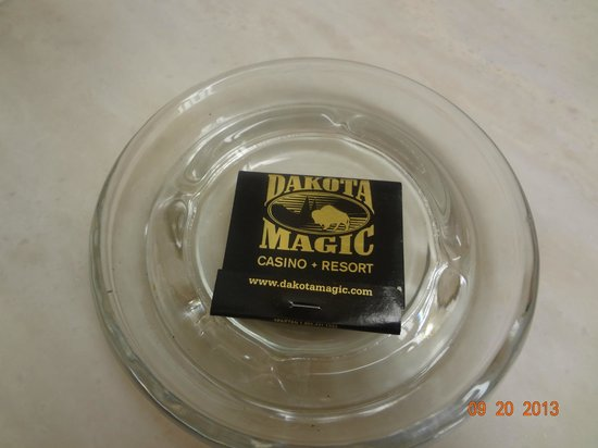 Dakota Magic Casino & Hotel: If you smoke you may appreciate this.