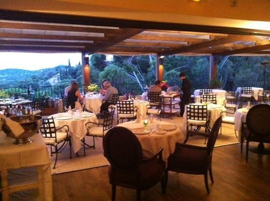 Hostellerie Le Baou : Le restaurant gastronomique