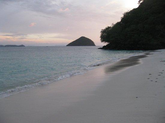 Coral Island Resort : Atardecer en Coral Island