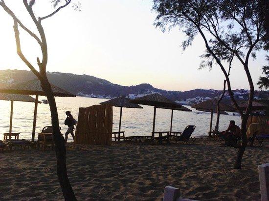 Almyra Guest Houses : Las hermosas playas de Parag se pueden disfrutar desde cualquier angulo de Almyra e ir caminando
