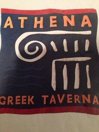 Athena Greek Taverna : logo