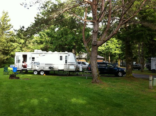 RV Resort at Cannon Beach : Great campsites. We love it here